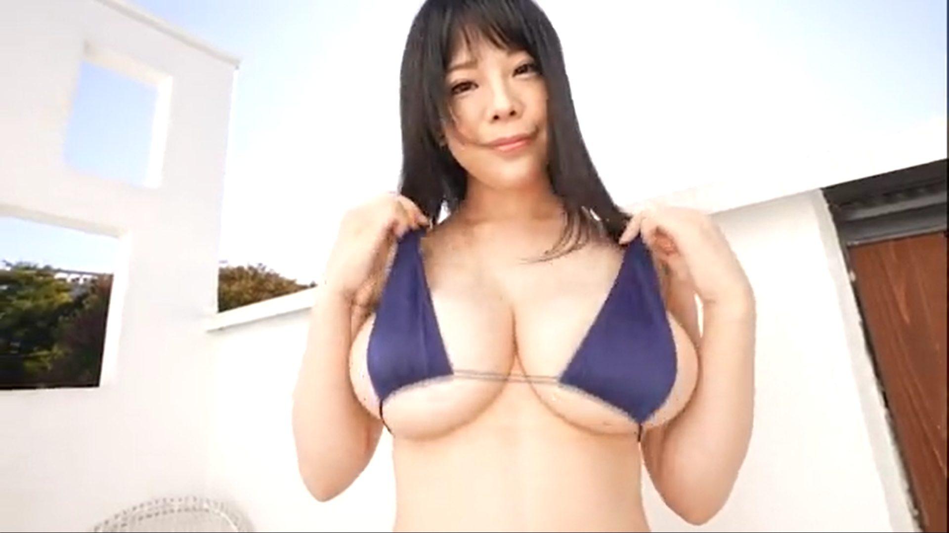 【伊藤椿】Kカップ 「はじらいKカップ」サンプル動画