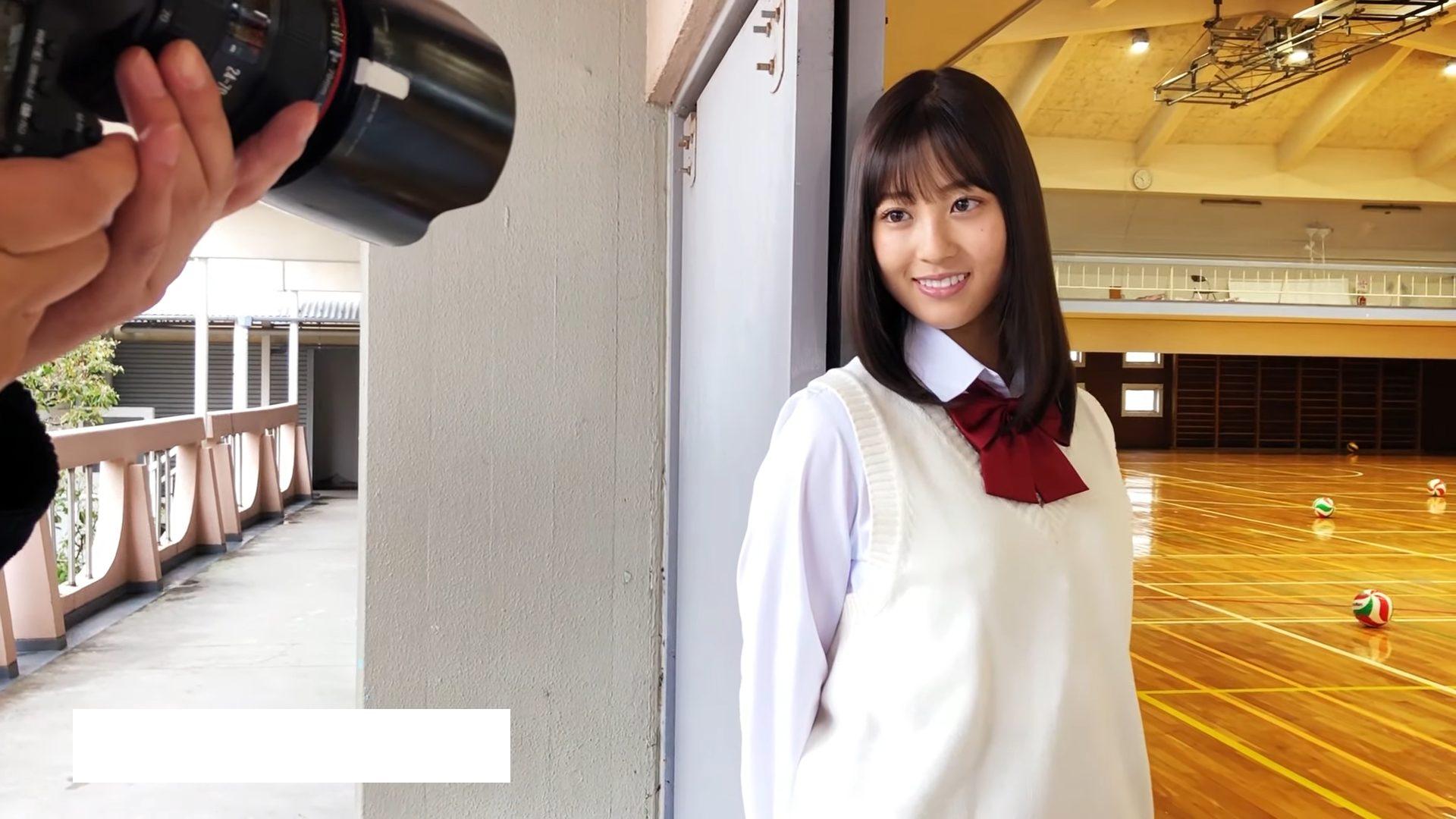 【光野有菜】-カップ2 ヤングジャンプ!「制コレ'20」ファイナリスト撮影メイキング動画!