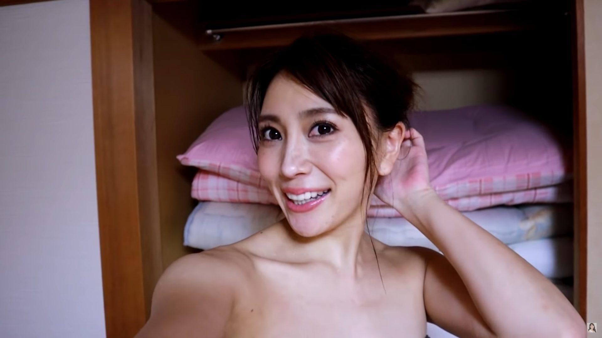 【森咲智美】Gカップ43 新作イメージ「冬恋」撮影裏側動画!セクシーな姿を披露!