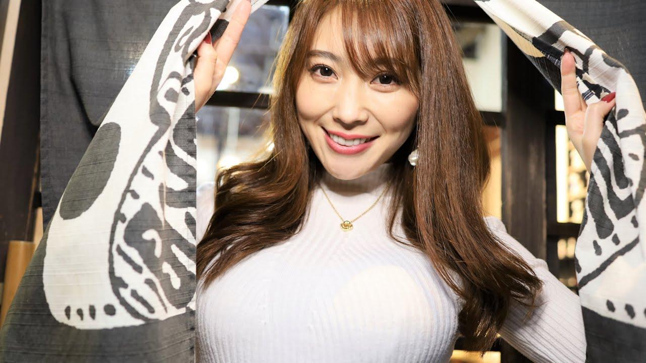 【森咲智美】Gカップ47 街ブラ&温泉混浴デート動画!&添い寝ASMR!