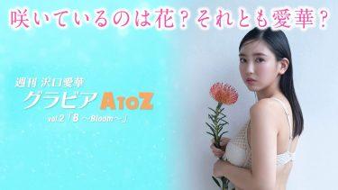 【沢口愛華】Fカップ25 週刊 沢口愛華 グラビアA to Z vol.2 『B ~Bloom~』!花&ポージング!